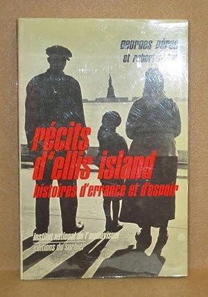 Récits D'Ellis Island: Perec, Georges