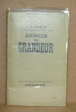 Besoin De Grandeur: Ramuz, C.F.