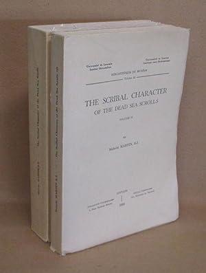 The Scribal Character Of The Dead Sea Scrolls: Martin, S.J., Malachi