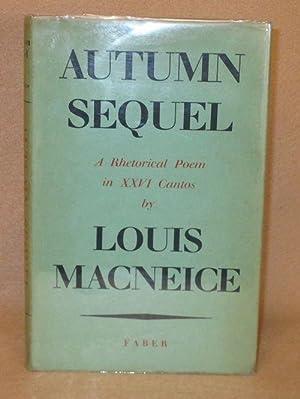 Autumn Sequel: Macneice, Louis