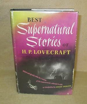 Best Supernatural Stories Of H.P. Lovecraft: Derleth, August