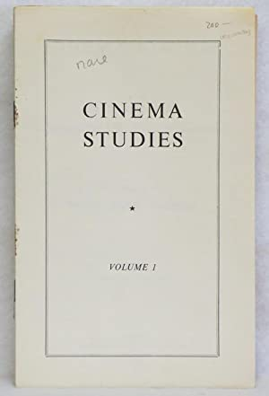 Cinema Studies: Hunnings, Neville March (Editor)