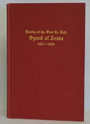 History of the First Evangelical Lutheran Synod of Texas: Heinrich, M.