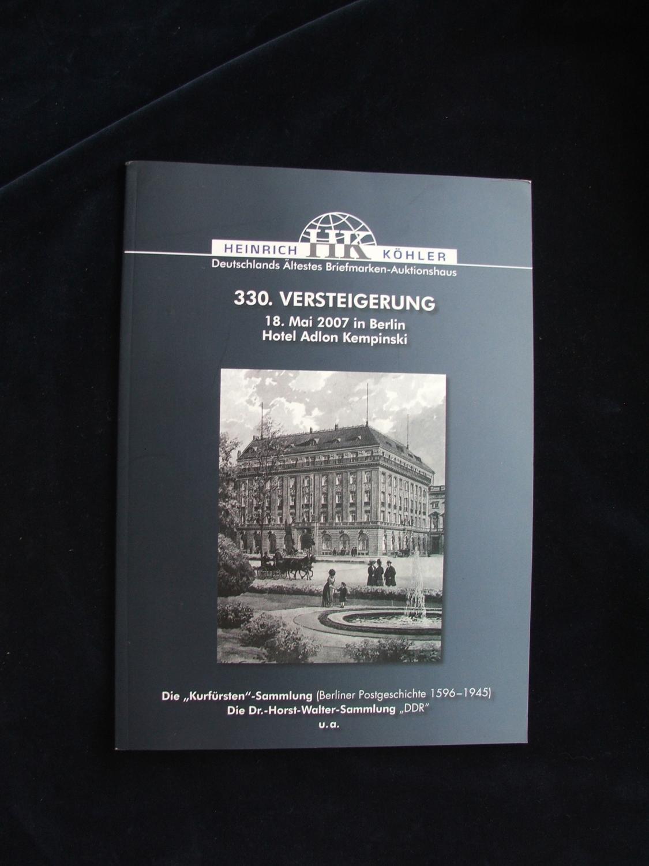 Die Sammlung Algovius Wiesbaden Altdeutschland Köhler 2008.