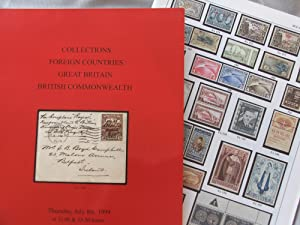 Collections, Foreign Countries, Great Britain, British Commonawealth (Thursday, July 5th. 1999): ...