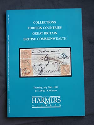 Catalogue of Collections: Foreign Countries, Great Britain, British Commonwealth: Auction No. 466...