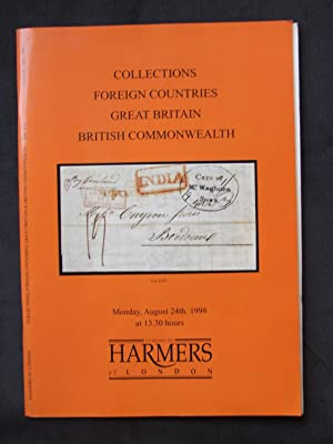 Catalogue of Collections with Air Mail Crash covers; Foreign Countries; Great Britain, British Co...