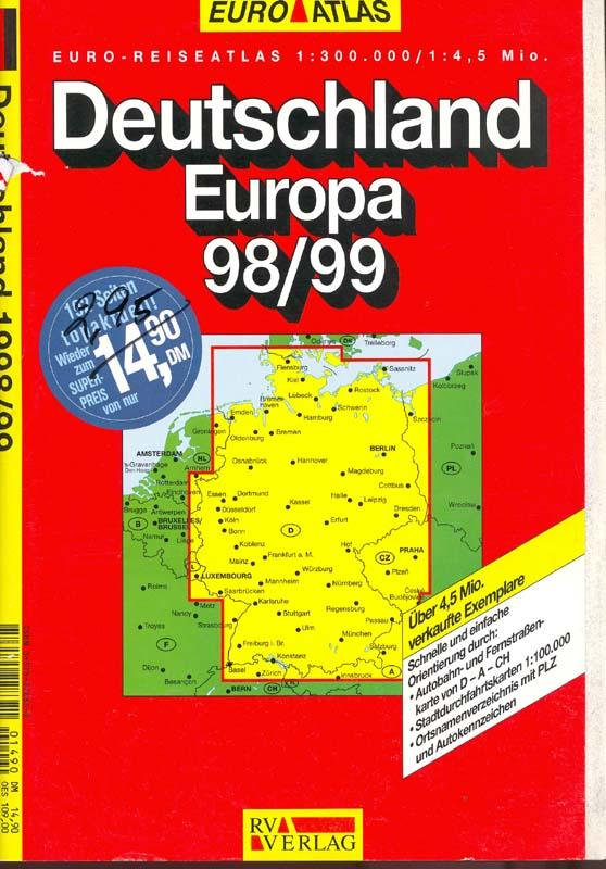 Euro Atlas Bénélux - RV Verlag