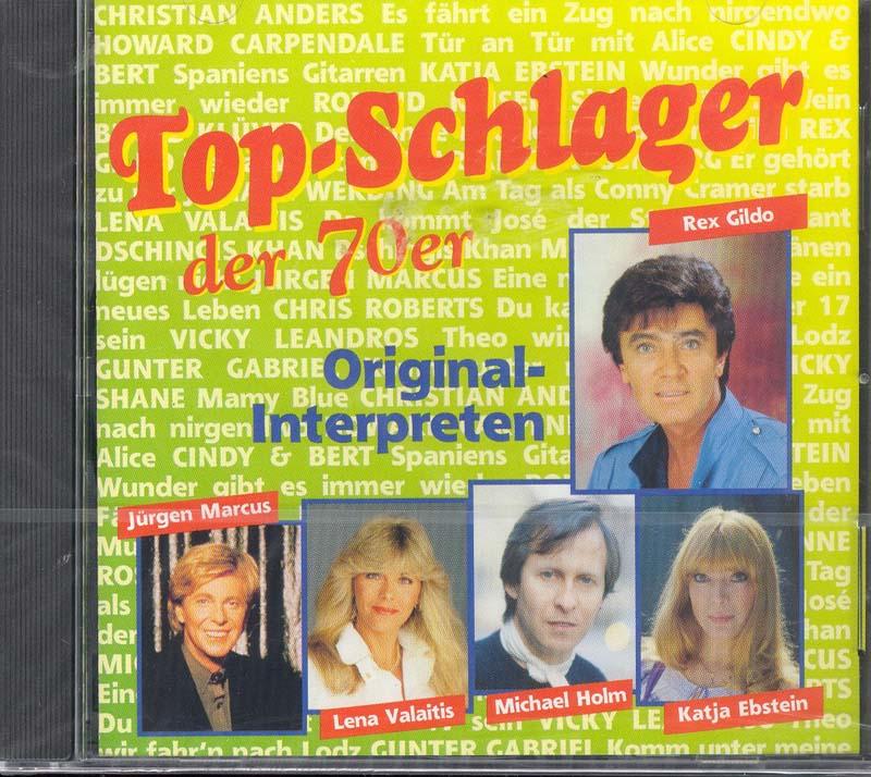 Top Schlager Der 70er Jahre Cd Von Rex Gildo Michael Holm Und V M Online Buchversand Die Eule