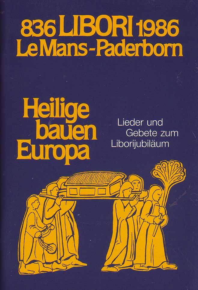 836 Libori 1986 Le Mans - Paderborn: Erz. Generalvikariat Paderborn: