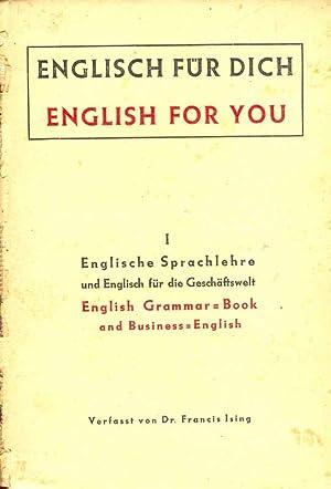 Englisch Für Dich English For You Von Ising Dr Francis Schulz