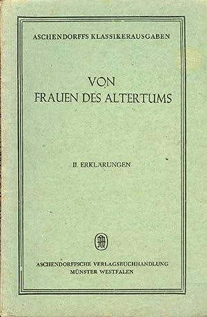 Von Frauen des Altertums: Klimberg, Hermann: