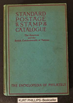 Scott's Standard Postage Stamp Catalogue, Combined, Vol. 1 (only), The Americas and the British C...