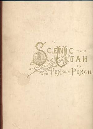 Scenic Utah: Pen and Pencil: Lambourne, Alfred