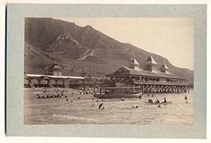 Bathing at Garfield Great Salt Lake (cabinet: Savage, Charles Roscoe