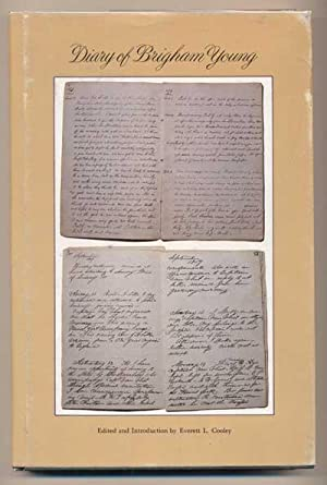 Diary of Brigham Young 1857. Edited and Introduction by Everett L. Cooley: Young, Brigham