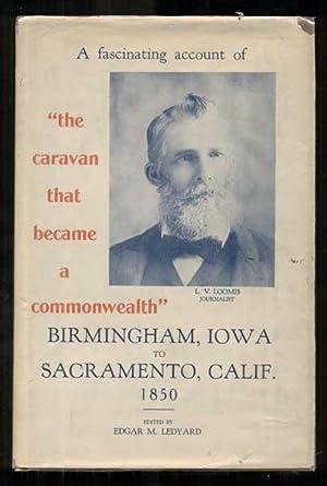 A Journal of the Birmingham Emigrating Company: Loomis, Leander V.