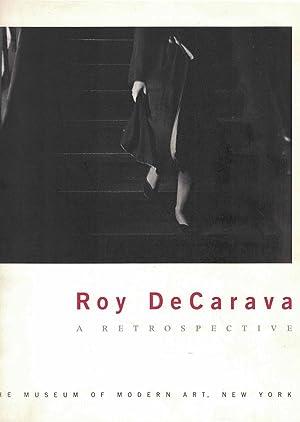 Roy DeCarava: A Retrospective: DeCarava, Roy