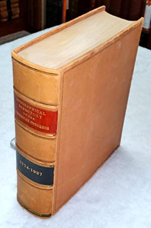 Biographical Directory of the American Congress, 1774-1927