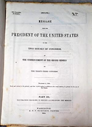 33d Congress, 2nd Session, Ex. Doc. No. 1: Message from the President of the United States. Part ...