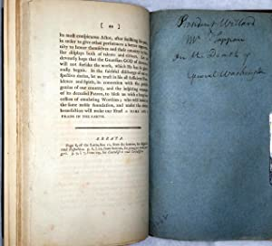 An Address in Latin, By Joseph Willard, // President; and a Discourse in English By David...