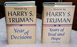 Memoirs: Volume One, Year of Decisions; Volume: Truman, Harry S.