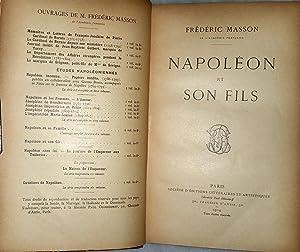 Napoleon et Son Fils: Masson, Frederic