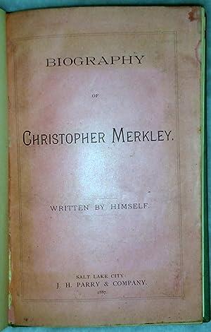 Biography of Christopher Merkley: Merkley, Christopher