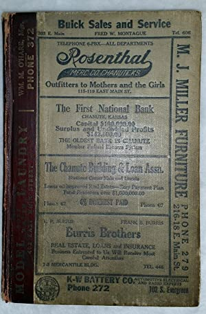 Polk's Chanute City Directory 1927-1928.