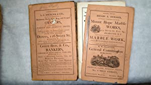 The Rochester Directory, Containing a General Directory Of the Citizens, a Business Directory, and ...