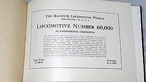 Locomotive Number 60,000: An Experimental Locomotive