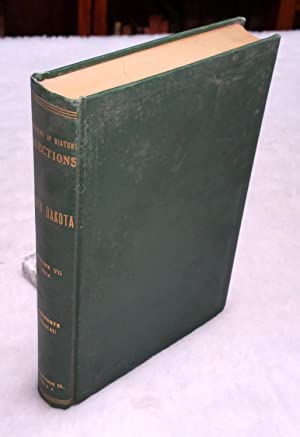 South Dakota Historical Collections, Volume VII, 1914