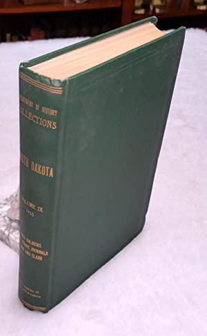South Dakota Historical Collections, Volume IX, 1918