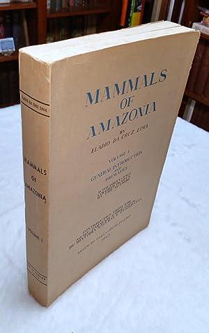 Mammals of Amazonia, Volume I: General Introduction and Primates: Lima, Eladio Da Cruz