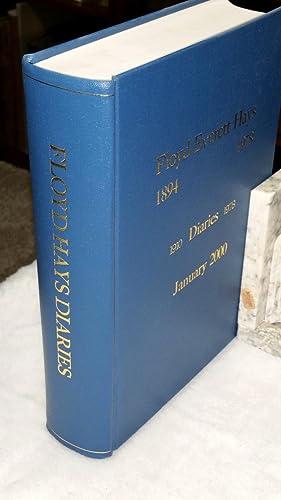 Floyd Everett Hays, Diaries 1910-1978: Hays, Floyd Everett