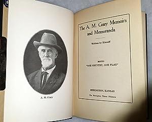 The A. M. Crary Memoirs and Memoranda: Crary, A. M.
