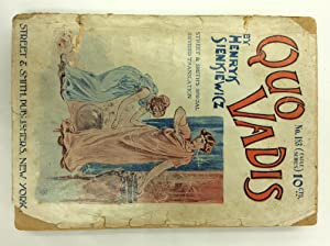 QUO VADIS: A Story of the Time: Henryk Sienkiewicz