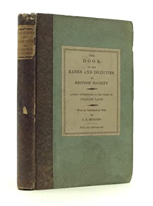 THE BOOK OF THE RANKS AND DIGNITIES: Charles Lamb
