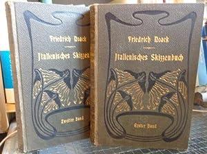 Italienisches Skizzenbuch - Bd. 1 & 2: Noack, Friedrich