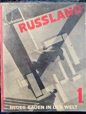 Russland. Die Rekonstruktion der Architektur in der: Lissitzky, El