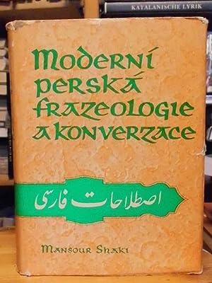 A Modern Persian Phrase-Book / Moderni perská: Shaki, Mansour