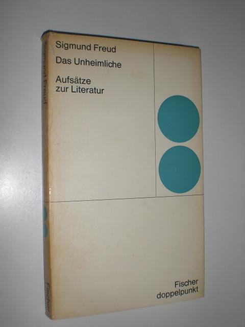 Sigmund freud das unheimliche essay