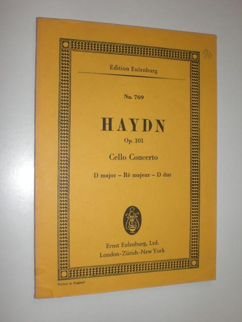 Op. 101. Cello Concerto. D major -: HAYDN, Joseph -