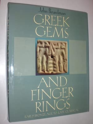 Greek Gems and Finger Rings. Early Bronze Age to late Classical. 51 plates in colour, 1016 photog...