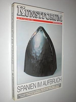 Kunstforum. Bd 94, April, Mai 1988. Spanien