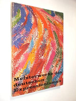 Meisterwerke des deutschen Expressionismus. Ausstellung 1960. Kunsthalle: KIRCHNER, E. L.