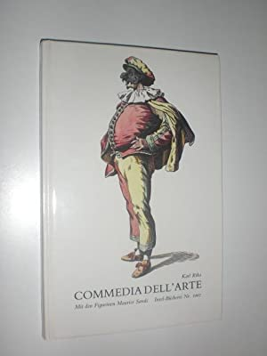 Commedia dell'arte. Mit den Figurinen Maurice Sands.