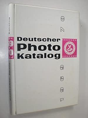 Deutscher Photokatalog 1969/70.