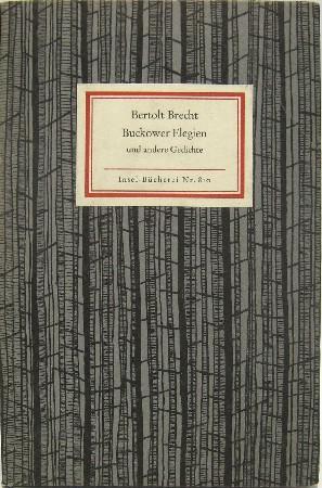 Brecht Gedichte Im Exil Zvab
