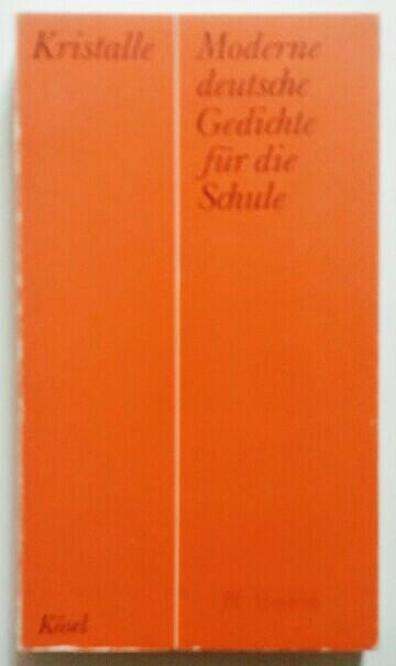 Moderne Deutsche Gedichte Für Die Schule